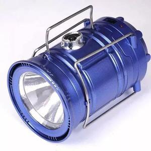 Lampião luminária elétrico recarregável solar led