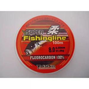 Linha líder 100% fluorcarbono fishingline 0,50mm 21 kg 100m