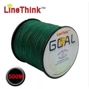 Linha multifilamento linethink goal 500m + brinde surpresa