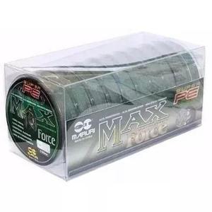 Linha Multifilamento Max Force Com 10 Rolo 100 Metros 0,30mm