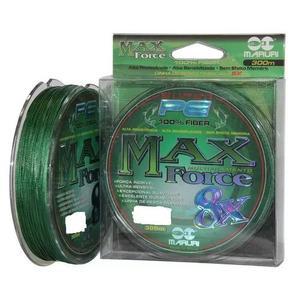 Linha Multifilamento Max Force Maruri 8x 0,50mm 60 Kg 300m