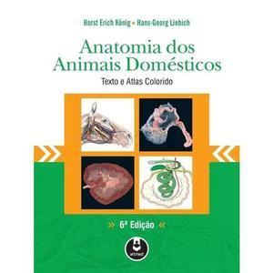 Anatomia dos animais domésticos - textos e atlas