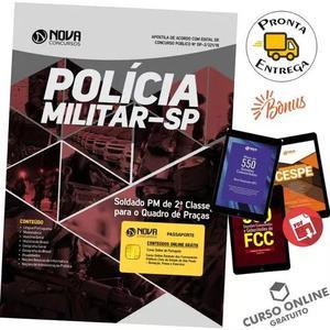 Apostila pm sp 2018 - soldado pm 2ª classe - pós edital