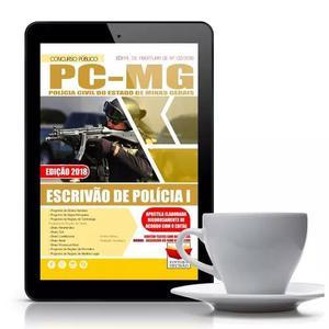 Apostila polícia civil-mg 2018 - escrivão de polícia i