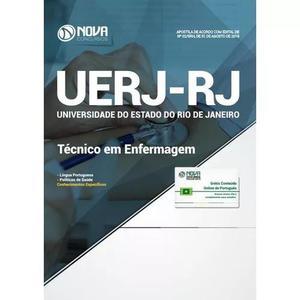 Apostila uerj-rj 2018 - técnico