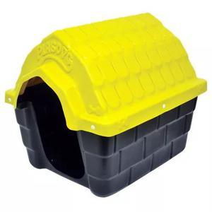 Casa casinha plastica para cães cachorros lavável plastdog