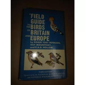 Field guide to the birds of britain and europe.. roge