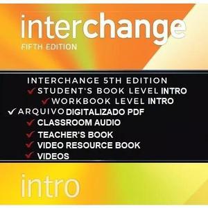 Interchange intro 5th fifth edition student's,work. teacher