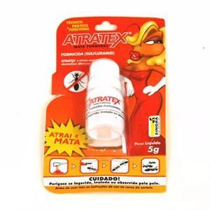 Isca atratex 5g formicida kit com 4 unidades + frete gratis