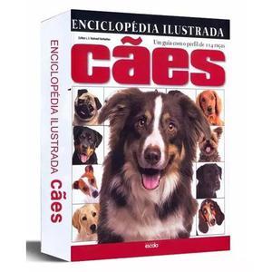 Kit 3 enciclopédia ilustrada cães guia perfil de 114