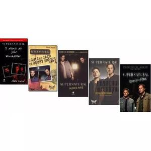 Kit supernatural (5 livros)