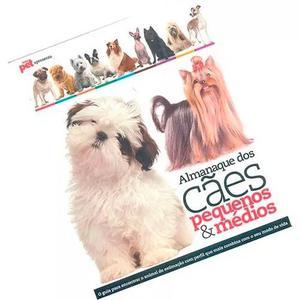 Livro almanaque dos cães pequenos & médios meu pet escala