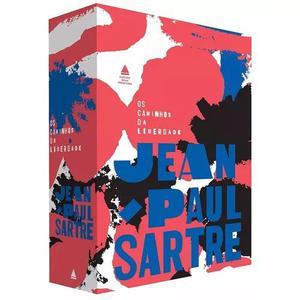Livro box os caminhos da liberdade caixa jean paul sartre