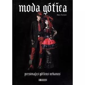 Livro moda gótica personajes góticos urbanos - marc