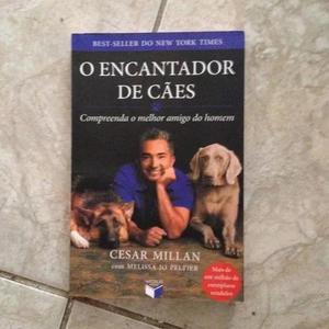 Livro o encantador de cães - cesar millan com melissa jo