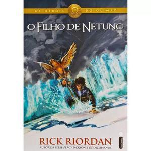 Livro o filho de netuno coleção os heróis do olimpo