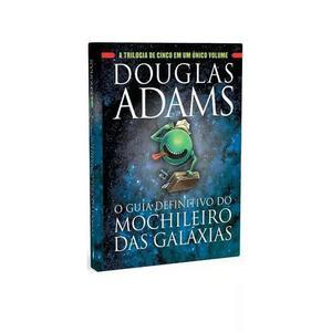Livro - o guia definitivo do mochileiro das galáxias #