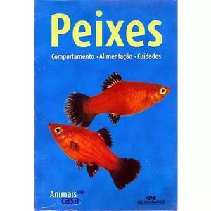 Livro: peixes - cuidados com o aquário - ilustrado - 2003
