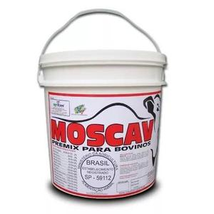 Moscav 10kg - o fim da mosca,carrapato e berne p/bovinos