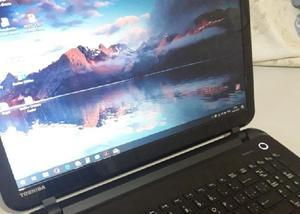 Notebook toshiba satellite como novo