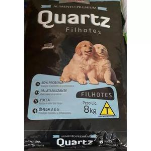 Ração quartz filhote 30% proteína 08kg 79,99 + brinde