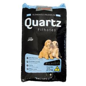 Ração quartz filhote 30% proteína 25kg 179,90 frete