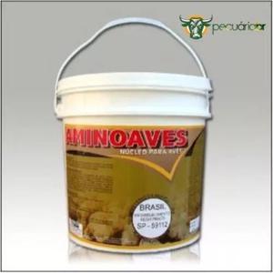 Aminoaves 2kg - nucleo para misturar na ração