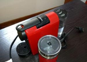 Cafeteira nespresso + aerotino