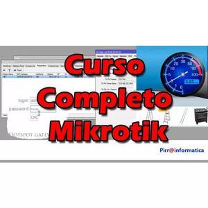Curso compreto video aula mikrotik do basico ao avançado