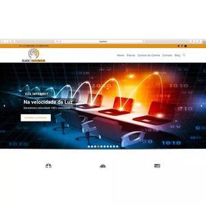 Site institucional profissional completo com certificado