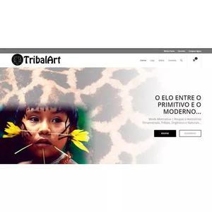 Vendo loja virtual + site + *marca tribalart prontos pra web