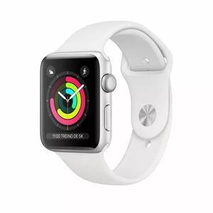 94b46173962 Apple watch séries 3 38mm gps sport prova d  39 água branco