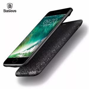 Capa carregador bateria baseus iphone 6 6s plus 7 8 plus