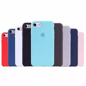Capa case silicone iphone 7 iphone 8 apple grátis película