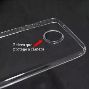 Capa proteção camera para moto z2 play + pelicula gel