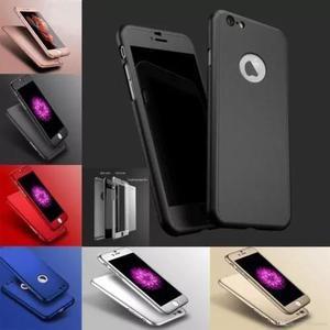 c8998380fc7 Capinha capa case iphone 5s se 6 6s 7 plus frente verso 360