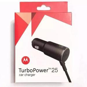 Carregador automotivo turbo power 25 - motorola, samsung, lg