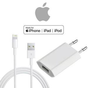 Carregador completo iphone original apple 5 6 7 8 plus e x