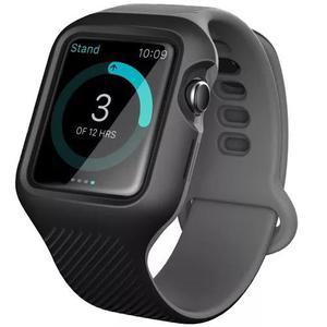 Case + pulseira i-blason 42mm apple watch 1/2/3 cinza/preto