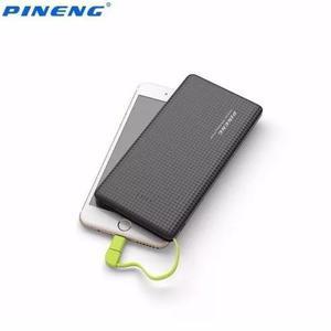 Kit 2 pineng original carregador power bank slim 10000 selo