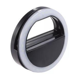 Luz de selfie ring light anel led flash celular