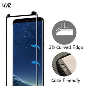 Película de vidro case friendly curva samsung galaxy s8 s8+