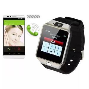 2e79a476f79 Relógio celular smart watch zd09 chip câmera som m