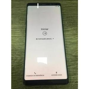 Samsung galaxy note 8 preto tela 6,3 128gb original /burn in