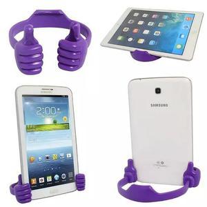 Suporte base mesa mão dock ipad celular tablet smartphone