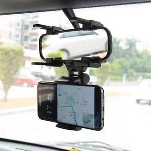 Suporte carro veicular para celular gps retrovisor uber taxi
