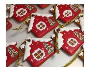 Biscoitos natalinos amanteigados