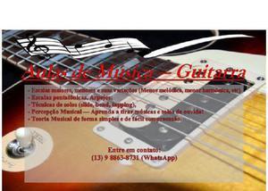 Aulas de música online - via whatsapp