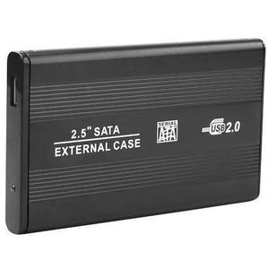 Case gaveta hd sata externo 2.5 usb 2.0 notebook cabo y