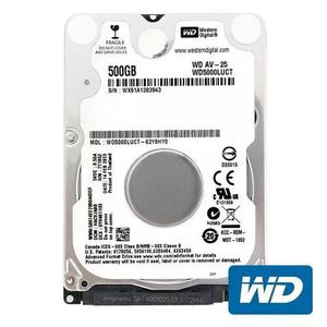 Hd 500gb notebook sata slim lacrado garantia